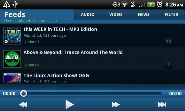 DoggCatcher Is a Powerful Podcast Downloader and Manager for Android