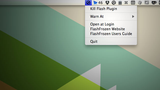 FlashFrozen Is a One-Click Kill Switch For Flash
