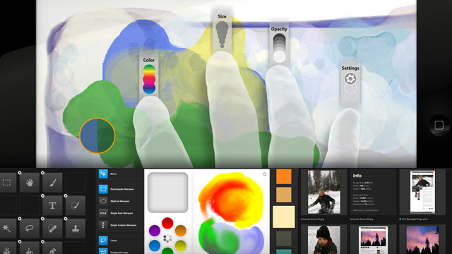 Photoshop Touch iPad Apps Now Ready for Download