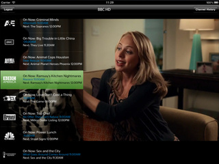 TWCable TV Streams Live Time Warner Programming to Your iPad