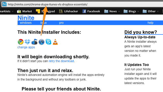 Ninite Adds Shareable Links, Makes Setting Up Your Friends' Computers Insanely Easy