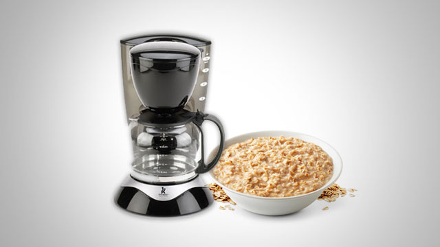 Make Oatmeal in a Coffee Maker