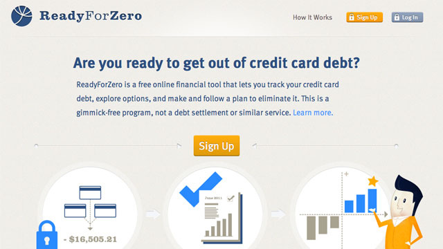 ReadyForZero is a Simple Webapp That'll Help Get You Out of Debt