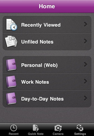 Microsoft OneNote Comes to the iPhone