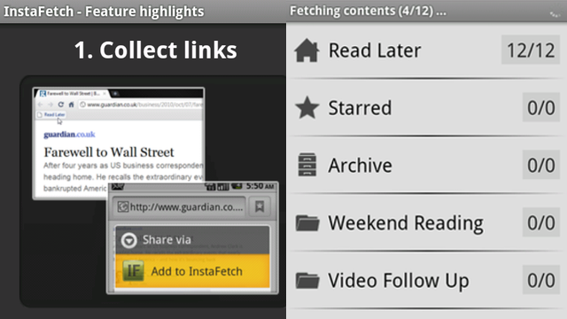 InstaFetch Brings Instapaper to Android and Windows Phone 7