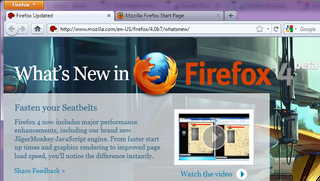 Firefox 4 Beta 7 Is Nearly Complete and Much Speedier