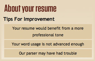 RezScore Grades Your Resumes and Offers Free Advice