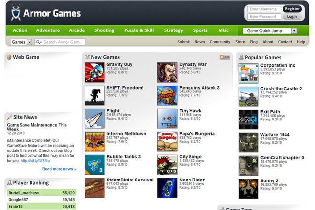 Five Best Resources for Free Games