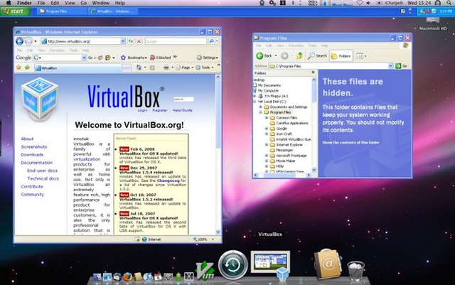Best Virtual Machine Application: VirtualBox