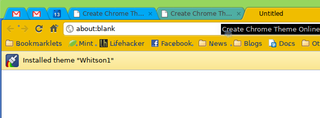 Create Your Own Google Chrome Themes
