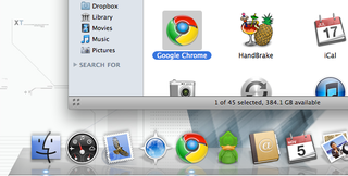 Command-Click OS X Dock Items to Show Them in Finder
