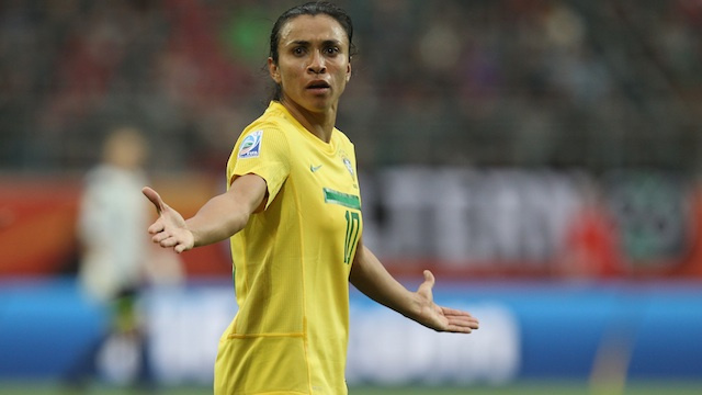 Meet Marta, The Star Of The Women's World Cup
