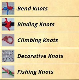 Knots Guide Is an Android-Based Knot How-To Guide