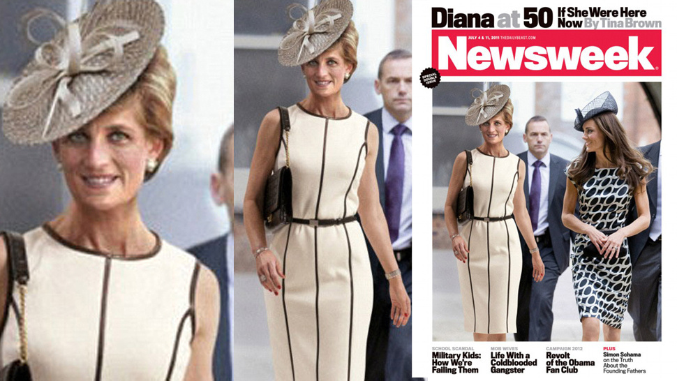 Undead Princess Diana Strolls With Kate Middleton On Ridiculous <em>Newsweek</em> Cover
