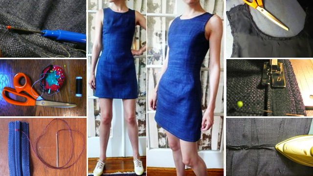 How To Alter A Thrift Store Dress