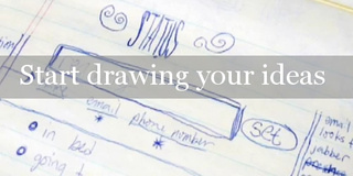 """Start Drawing Your Ideas"""