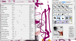 MyPaint is a Full Screen Image Editor with an Unlimited Canvas
