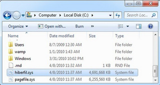 Free Up Drive Space by Deleting the Hiberfil.sys