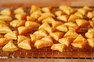 Bake Homemade Cheese Crackers (Fishy Smiles Not Included)