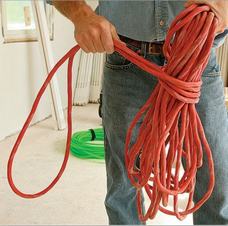 Wrap Hoses and Cords Properly to Avoid Tangles and Damage