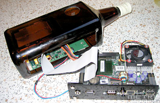 Build a Home Server in a Whisky Bottle