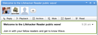 Join the Lifehacker Readers Public Wave