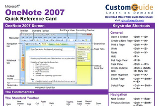 CustomGuide Provides Quick-Reference Sheets for Microsoft, Apple, and Adobe Products