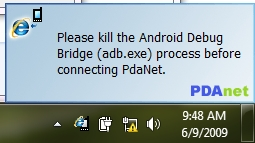 PdaNet Tethers Android Phones to Laptops with Ease