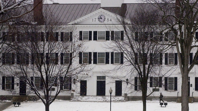 Dartmouth Sororities To Punish Frats That Ignore Assault