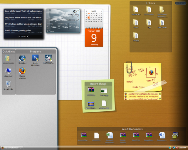 The Compartmentalized Desktop