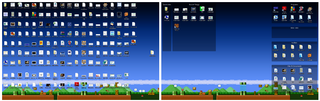 Fences is a Seriously Awesome Desktop Icon Organizer