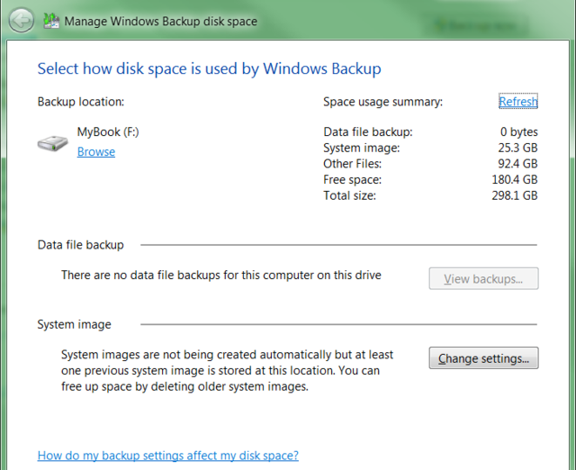First Look at Windows 7's Backup and Restore Center
