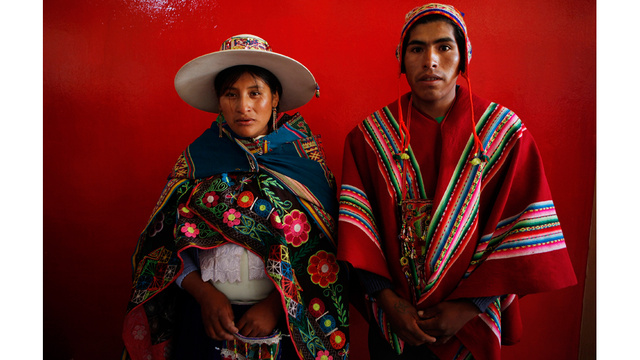 350 Couples Married In Colorful Bolivian Mass Wedding