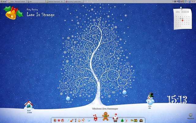 Holiday-Themed Desktop Roundup