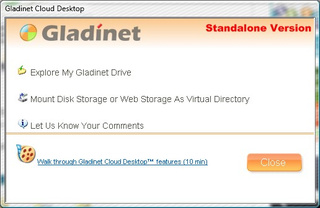 Gladinet Mounts Web Storage Apps as Virtual Drives
