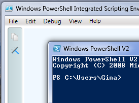 PowerShell Comes with Windows 7