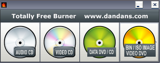 Totally Free Burner Makes CD and DVD Burning Simple