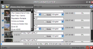 DVD Catalyst Rips DVDs to Friendly Formats in One Click