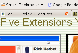 Top 10 Firefox 3 Features