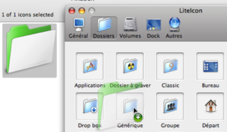 Change Mac system icons with LiteIcons