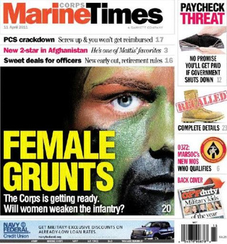 "Military Paper: ""Will Women Weaken The Infantry?"""