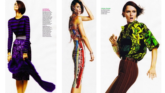Marie Claire Recommends Fruit Prints For Spring