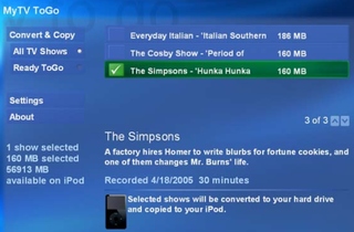 Alpha Geek: Copy TV shows to your iPod