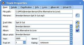 Alpha Geek: Whip your MP3 library into shape, Part III: Metadata