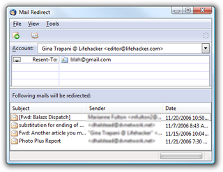 Download of the Day:  Mailredirect (Thunderbird)