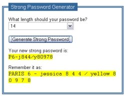 Create passwords in a flash with Strong Password Generator