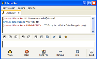 Geek to Live:  Encrypt your instant messages with Gaim