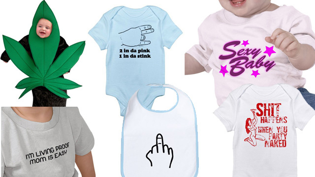 The 15 Most Inappropriate Baby Outfits