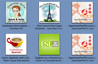 Learn a language with podcasts
