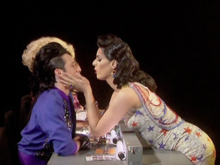 Johnny Weir Gets Kissed On RuPaul's Drag Race